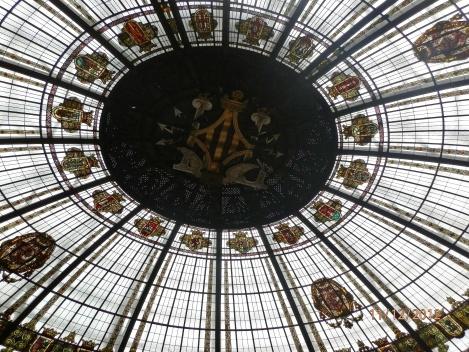 Dachkuppel im Postgebäude
