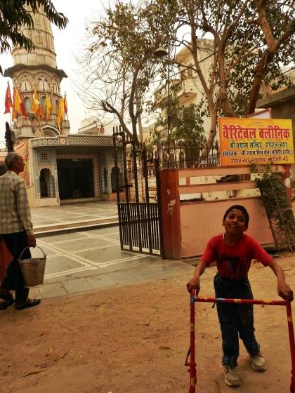 Tempel nahe des Kinderpflegeheims