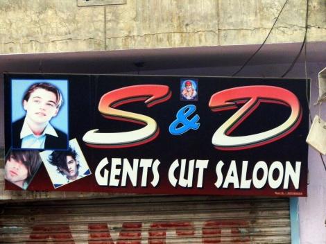 Leonardo DiCaprio am Indischen Friseur-Salon