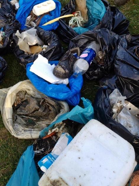 80 kg Müll auf nur 3km