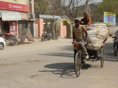 Indien Straßenleben