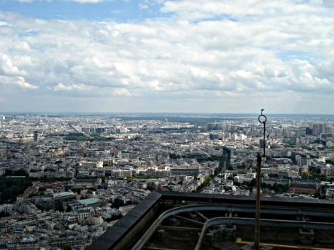 Ausblick vom Tour Montparnasse 5