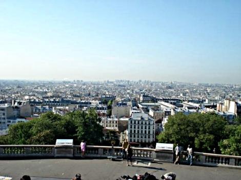 Ausblick von der Sacré Cœur