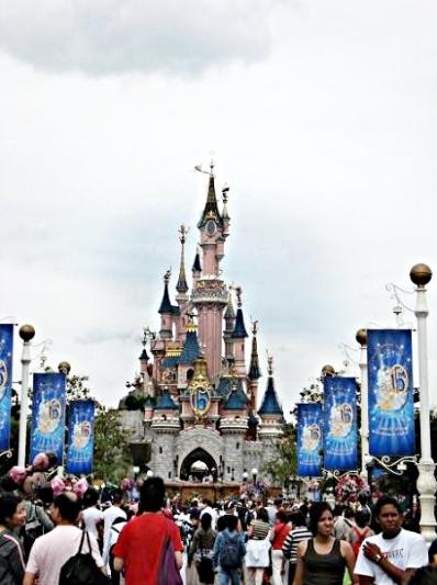 Da ist es - das berühmte Disneyschloss!