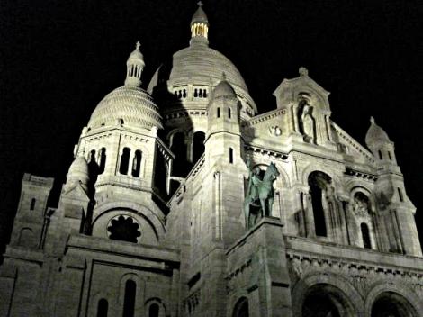 Sacré Cœur bei Nacht