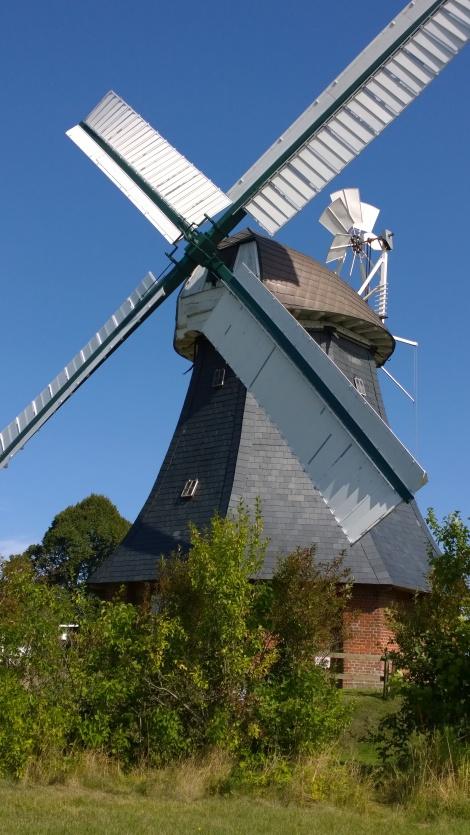 Kellerholländer-Mühle in Krokau beim Traktorentreffen