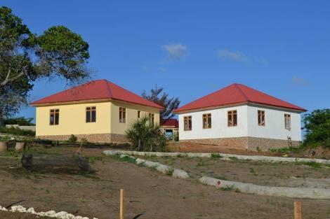 2 von 5 Kinderhäusern im April 2015 Foto: Nicole Mtawa