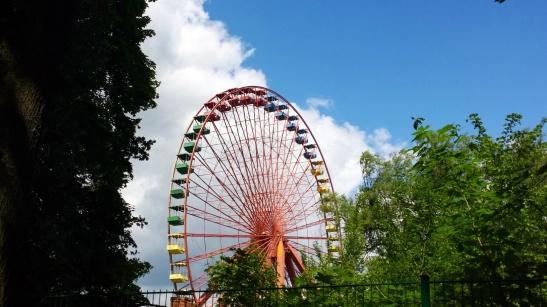 Riesenrad des Spreeparks heute