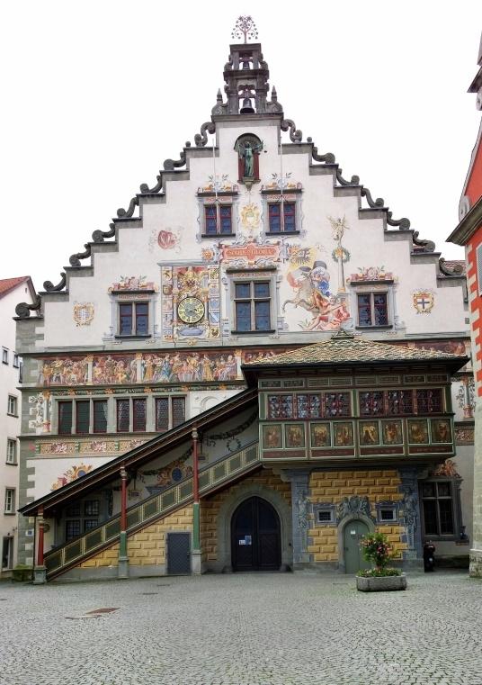 Das Alte Rathaus von Lindau - farbenfroh und prächtig!