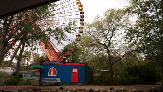 Naturbühne unterm Riesenrad