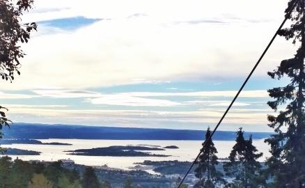 Oslo,von Natur aus schön