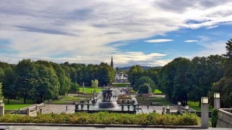 Vigeland-Skulpturenpark im Frognerpark